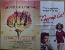 Chariots of Fire / Gregory's Girl - UK Quad Double Bill